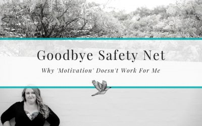 Goodbye Safety Net, Hello Bugs. Why Motivation Doesn't Work For Me, Especially When The Family Gets Gastro